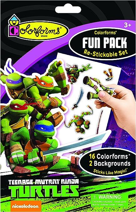 Colorforms Fun Pack Teenage Mutant Ninja Turtles