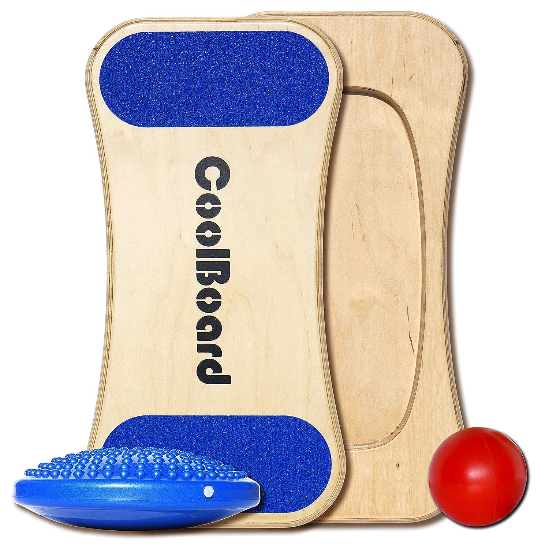 CoolBoard 2 in 1 - 3D Balance Board & überlegen Wobble Board