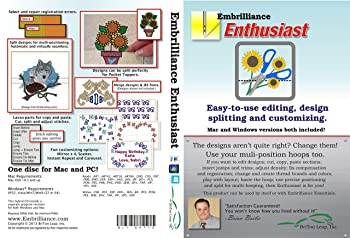 Embrilliance Enthusiast Software for Embroidery