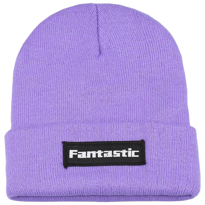 d8f2857ca3f Fantastic Zone Men Women Winter Beanie Skull Cap Warm Knit Caps Acrylic Ski  Slouchy Beanie Hat For Men   Women at Amazon Men s Clothing store