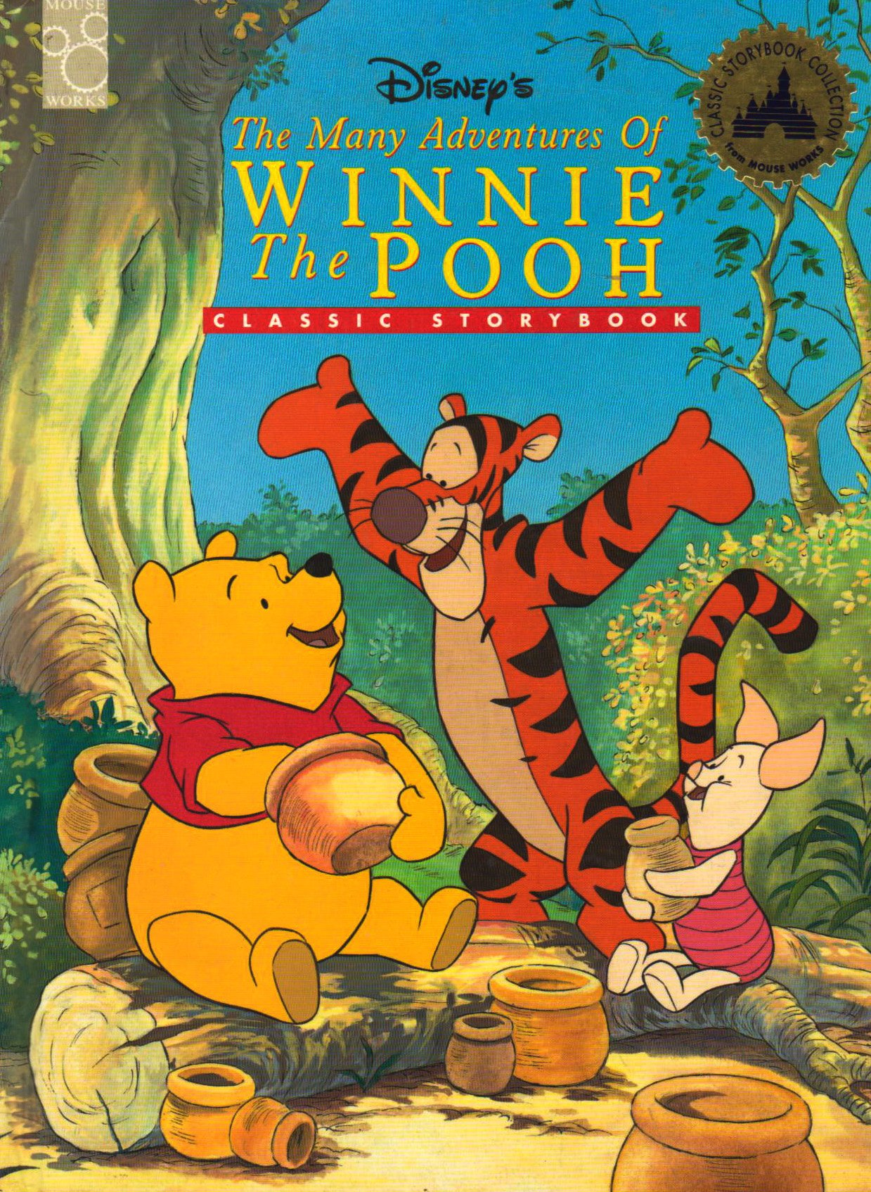 5f5fe8dbe085 Disney s the Many Adventures of Winnie the Pooh  Classic Storybook  Jamie  Simons