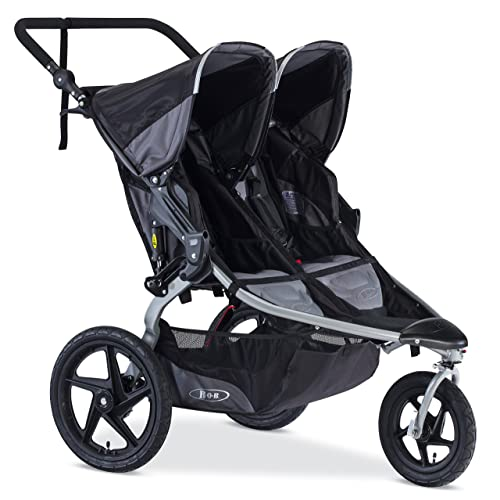 BOB Revolution Flex Duallie Jogging Stroller Black