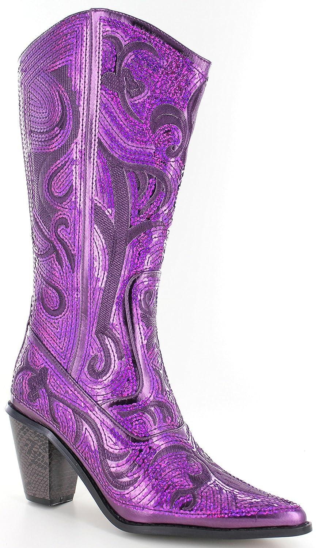 Helens 5 Heart Bling Boots B017MTWPVS 5 Helens B(M) US|Purple 3665f4
