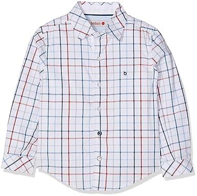 boboli Poplin Shirt Check For Baby Boy Camisa para Beb/és