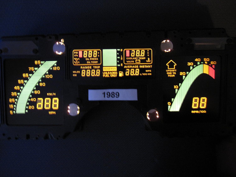 Amazon Com Corvette Digital Dash Instrument Cluster C4 Automotive