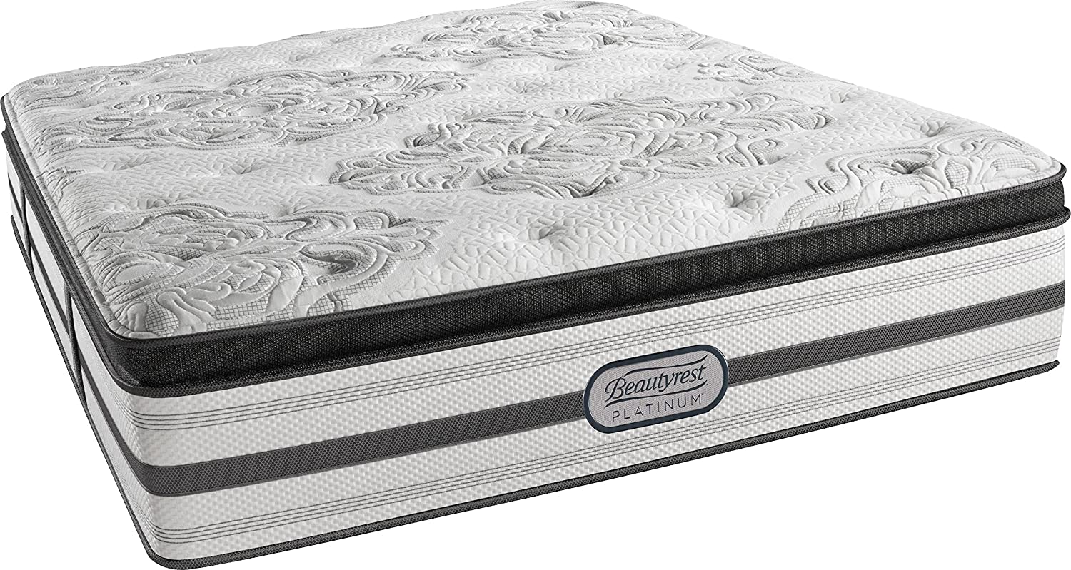 Beautyrest Platinum Luxury Firm Pillow Top Ledger, King Innerspring Mattress
