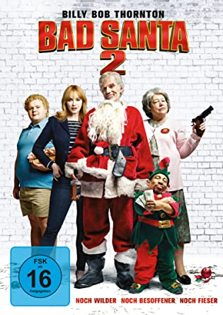 Bad Santa 2 Amazonde Billy Bob Thornton Tony Cox Brett Kelly