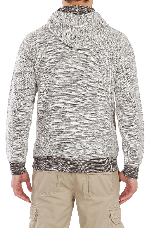 UNIONBAY Mens Long Sleeve French Terry Pullover Hoodie Sweatshirt