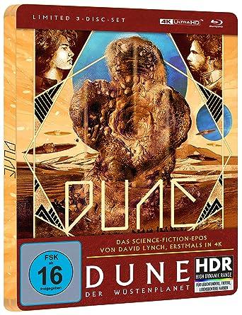 Dune - Der Wüstenplanet - Steelbook Edition (4K Ultra HD)