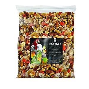 Tropimix Large Parrot Food Mix, Premium Blend of human-Grade Grains, Legumes, Nuts, Fruits & Vegetables, 20 lb Bag