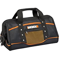 WORX Zippered Tool Bag with Interior and Exterior Pockets