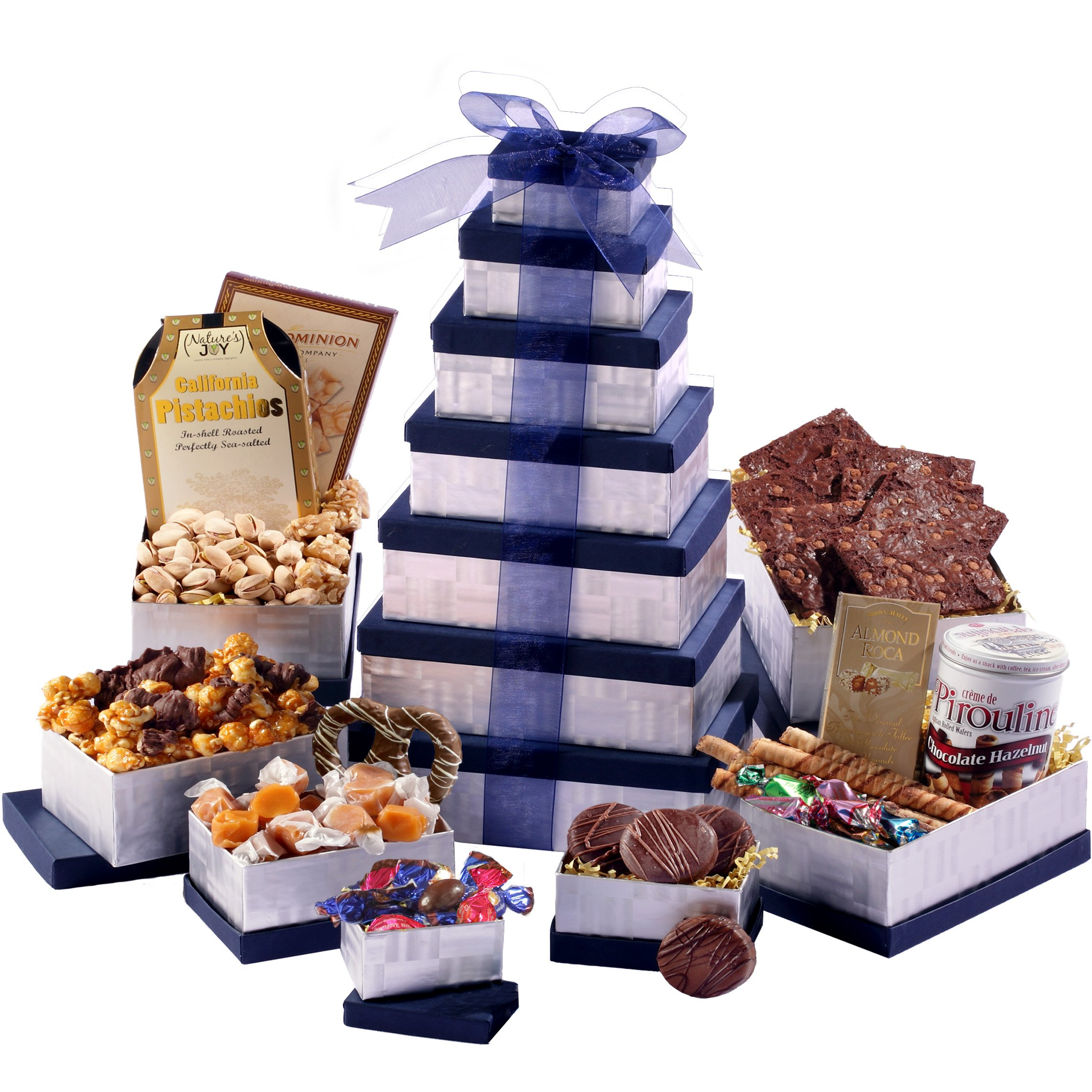 Broadway Basketeers Supreme Birthday Celebration Gift Tower by Broadway Basketeers (Image #1)