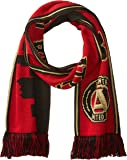 MLS Atlanta United Double Sided Skyline Scarf, One Size, Red