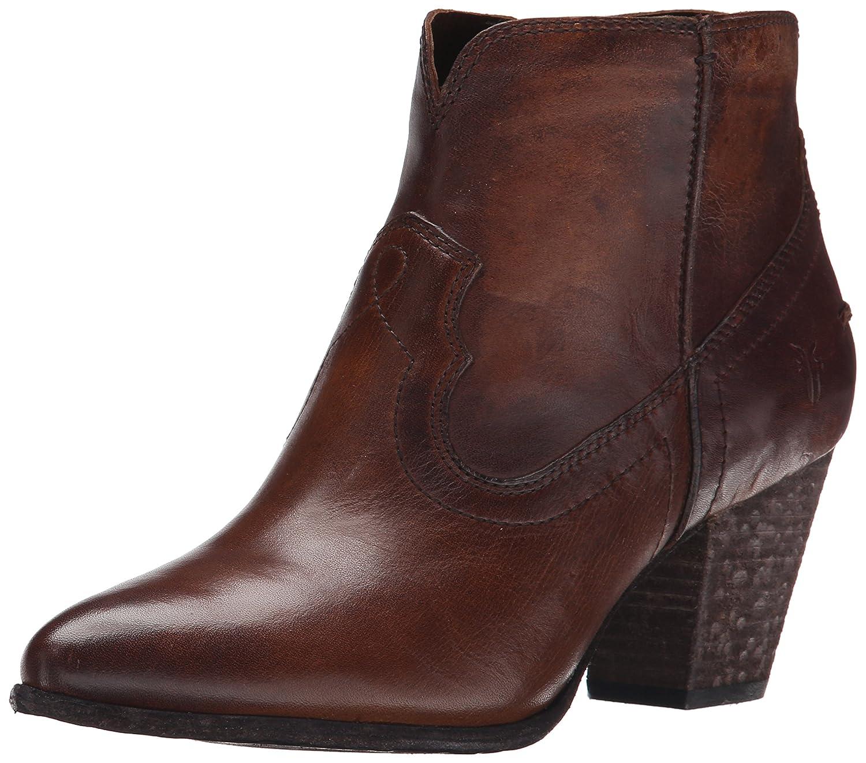 FRYE Women's Renee Seam Short Boot B00TQ4K560 10 B(M) US Dark Brown-72066