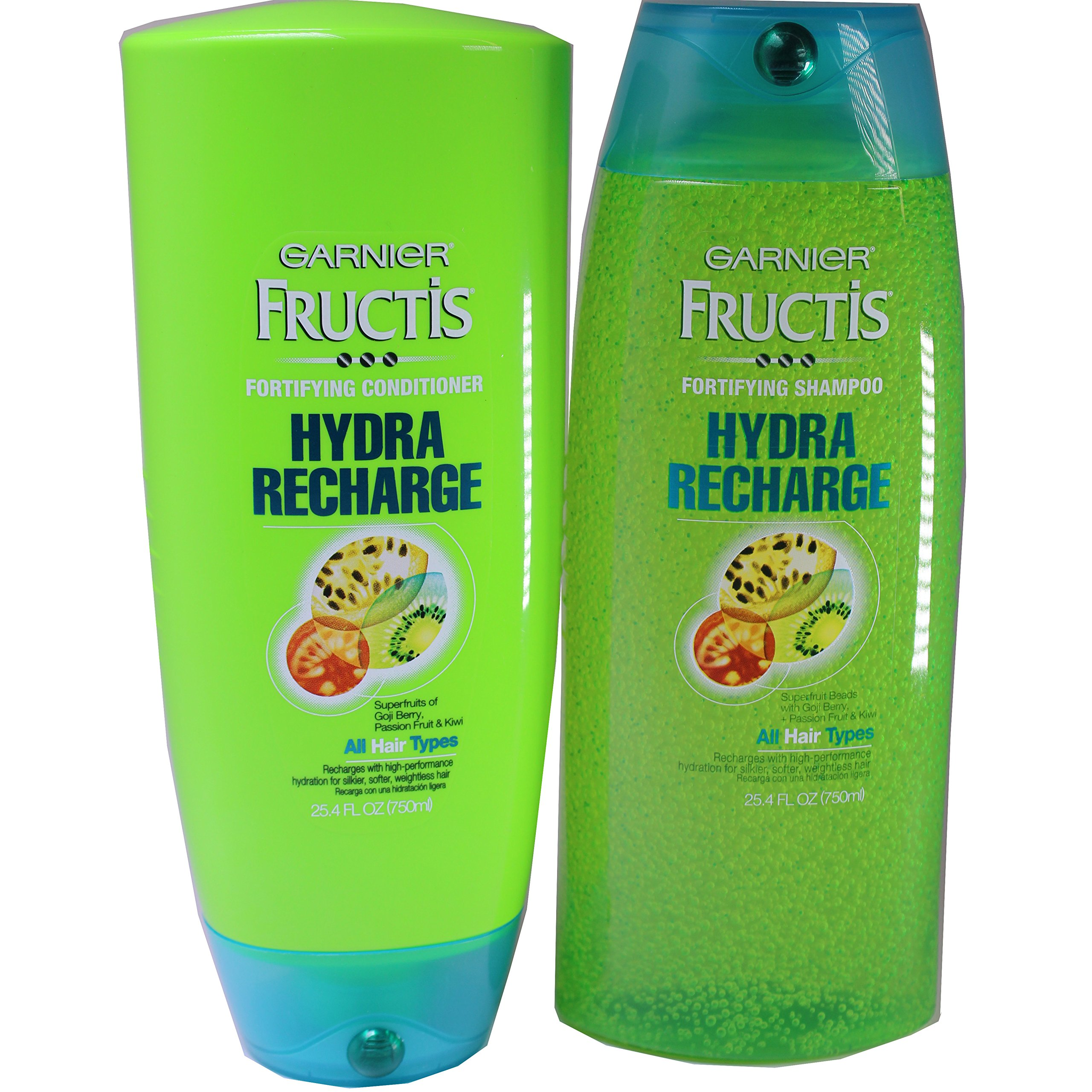 Garnier Fructis Hydra Recharge Shampoo and Conditioner Duo, For All Hair Types, 25.4 Ounce