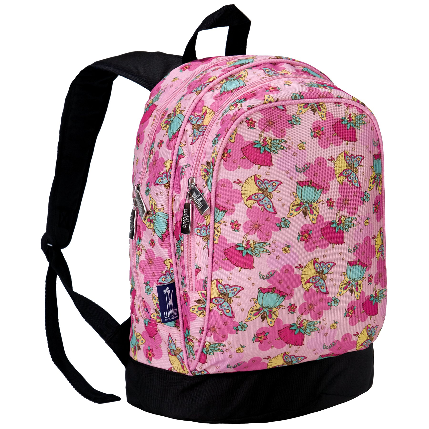 Wildkin 15 Inch Backpack, Extra Durable Backpack with Padded Straps and Interior Moisture-Resistant Lining, Perfect for School or Travel – Fairies