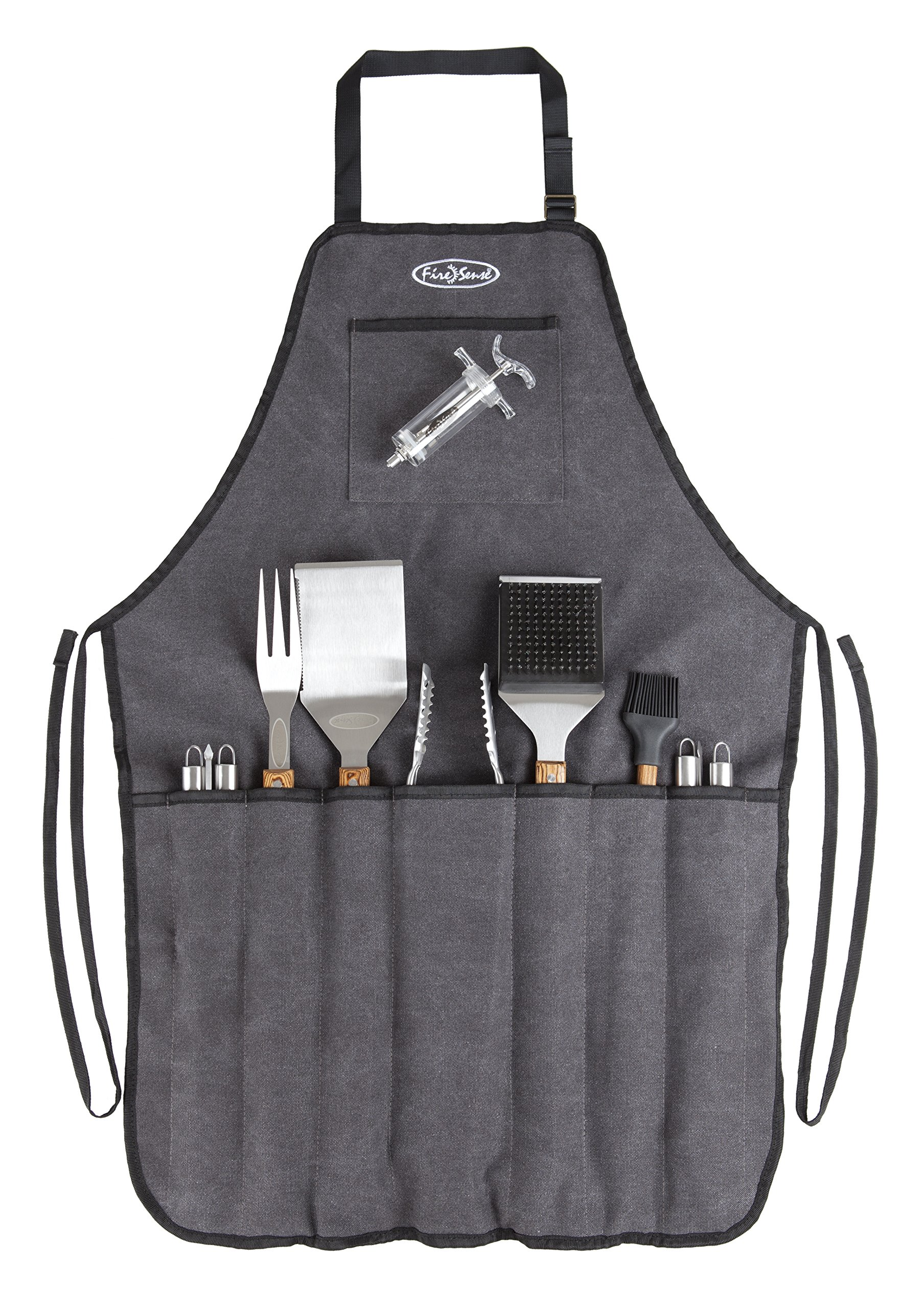 Fire Sense 61932 Elite Stainless Steel BBQ Tool Set by Fire Sense