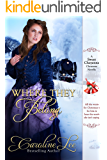 Where They Belong: A Sweet Cheyenne Christmas Story (The Sweet Cheyenne Quartet Book 6)