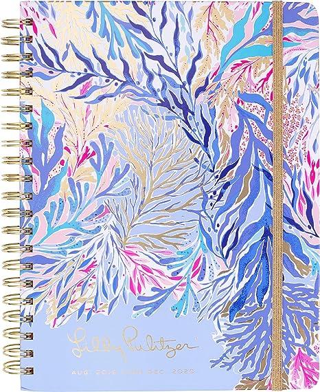 Lilly Pulitzer Jumbo 17 Month Hardcover Agenda, 11.13