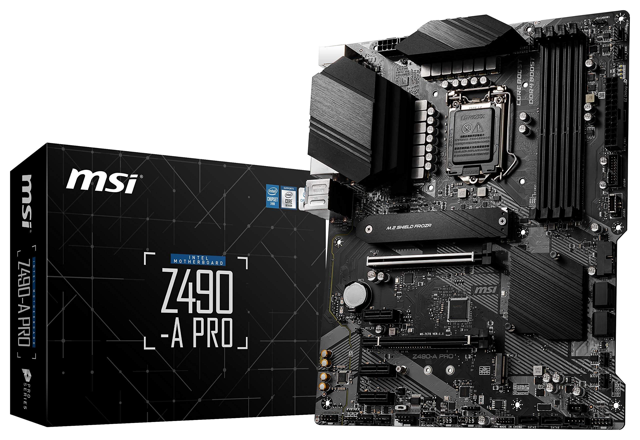 Motherboard MSI Z490-A Pro Socket LGA1200