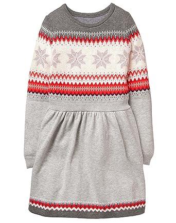6a694c3fde2 Amazon.com  Gymboree Girls  Little Fairaisle Dress  Clothing
