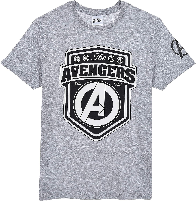 Avengers Herren Lang Pyjama Schlafanzug ,