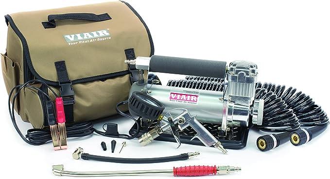 VIAIR 450P-RV Silver Automatic Portable Compressor