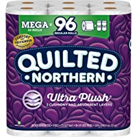 Deals on Quilted Northern Ultra PlushToilet Paper, 24 Mega Rolls