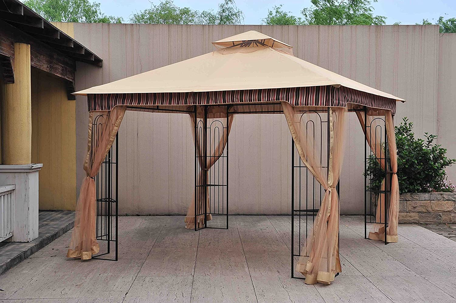 gazebos umbrellas canopies u0026 shade patio furniture amazon com
