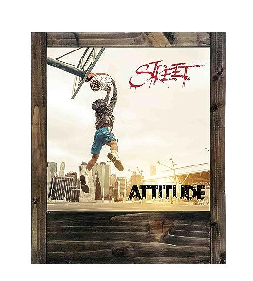 Lámpara de madera baloncesto Street Attitude: Amazon.es: Iluminación