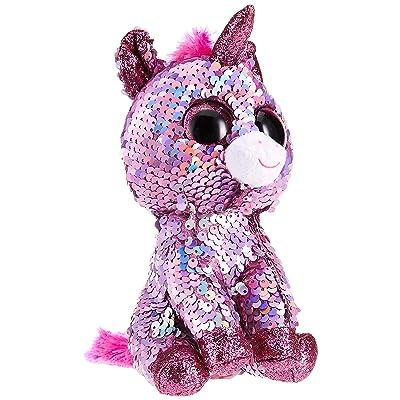 Ty - Beanie Boos - Flippables Sparkle Pink Unicorn /toys: Toys & Games