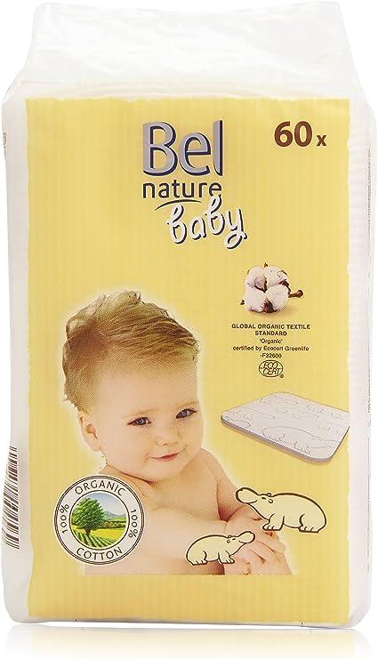 Bel Baby Nature Maxi Discos Algodón - 60 Unidades: Amazon.es: Belleza