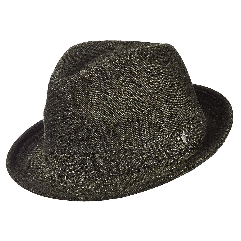 e16b18e5f Dorfman Pacific Wool Blend Fedora Hat at Amazon Men's Clothing store