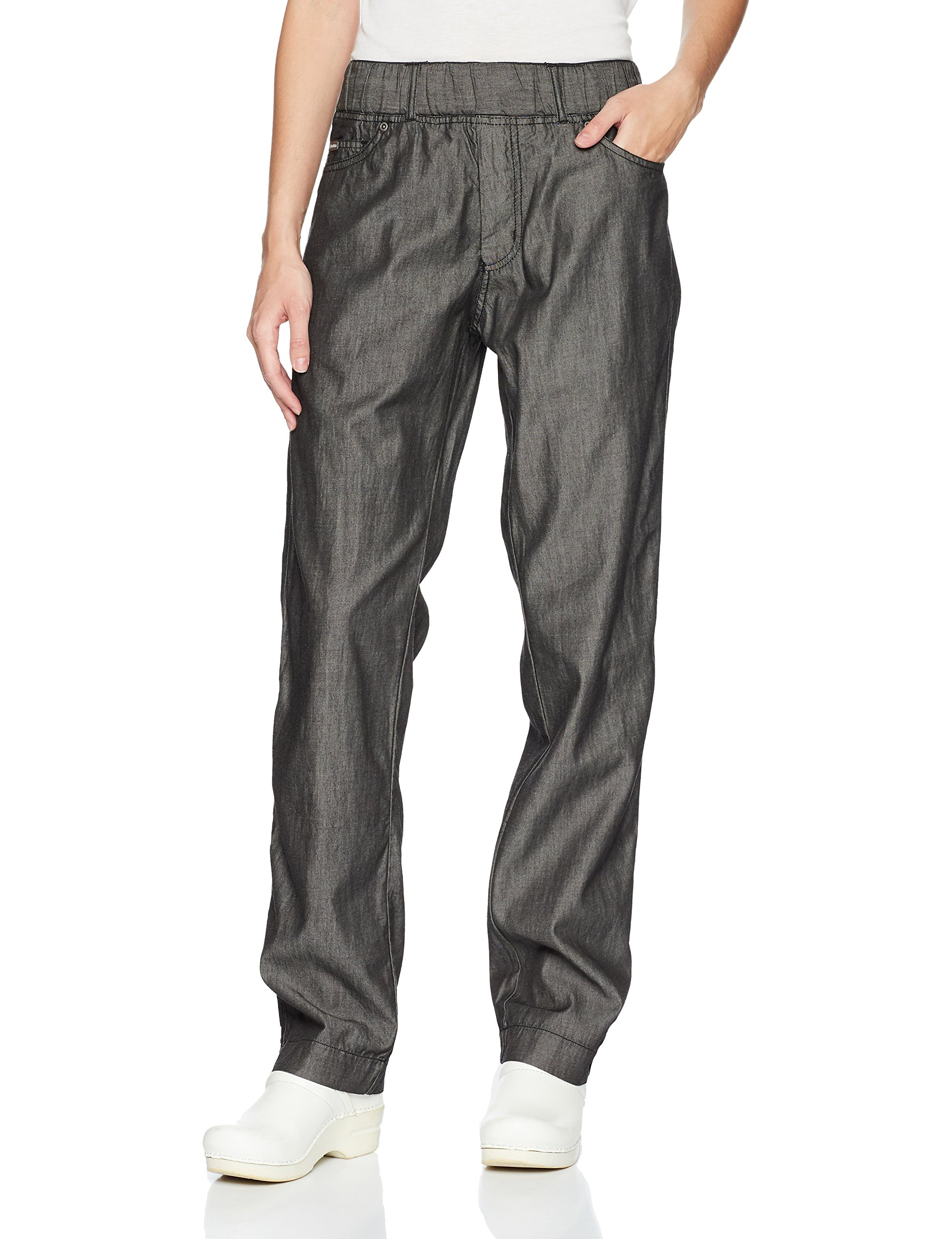 Chef Works Men's Gramercy Chef Pants, Black, Large