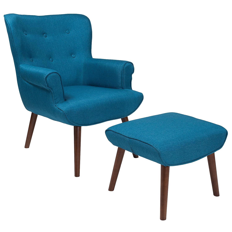 promo code 259f0 c0567 Amazon.com: Flash Furniture Bayton Upholstered Wingback ...