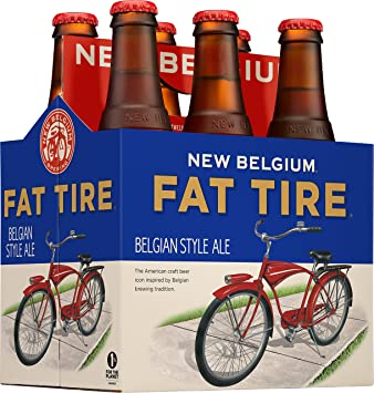 New Belgium Fat Tire 6 Pk 12 Oz Bottles 5 2 Abv Amazon Com