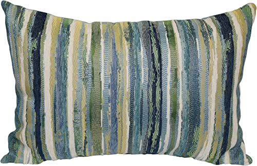 Brentwood Originals Parallel Pillow, 14 x 20 , Pacific