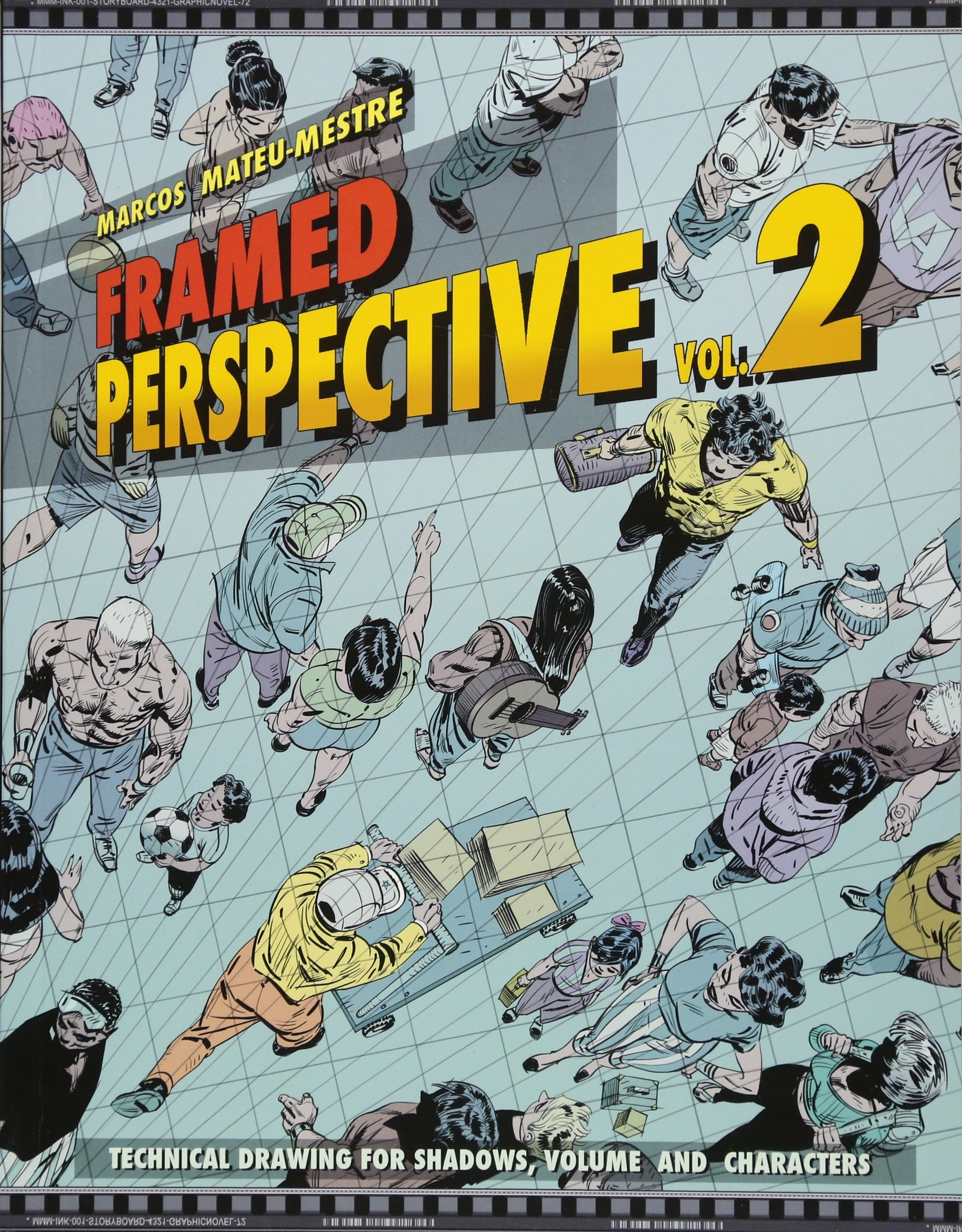 Framed Perspective Vol. 2: Technical Drawing for Shadows, Volume ...