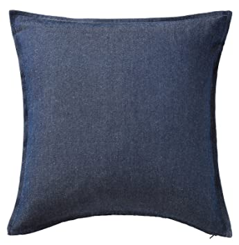 Amazon.com: IKEA cojín Throw Pillow Cover ormkaktus Blue ...