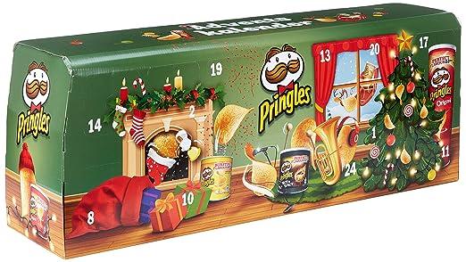 Chip De Weihnachtskalender.Pringles Chips Adventskalender Modell Grün 1er Pack 1 X 1 1 Kg