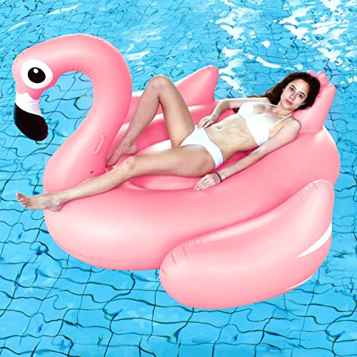Splosh Giant Flamingo Pool Lounger