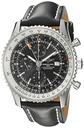 Breitling Men S A2432212 B726bklt Black Dial Navitimer World Watch