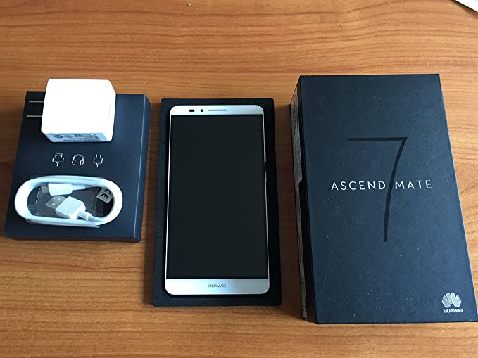 Unlocked 4G Huawei Ascend Mate7 MT7-TL10 6 0 inch EMUI 3 0 Smart Phone  Hisilicon Kirin 925 8 Core RAM 3GB ROM 32GB Dual SIM FDD-LTE WCDMA GSM -