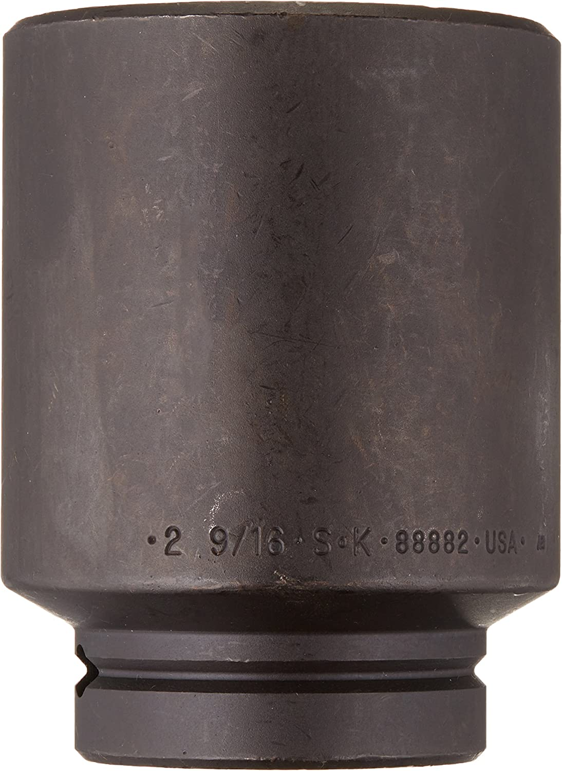 1-1//16-Inch SK Hand Tool 88834 6-Point 1-Inch Drive Deep Impact Socket