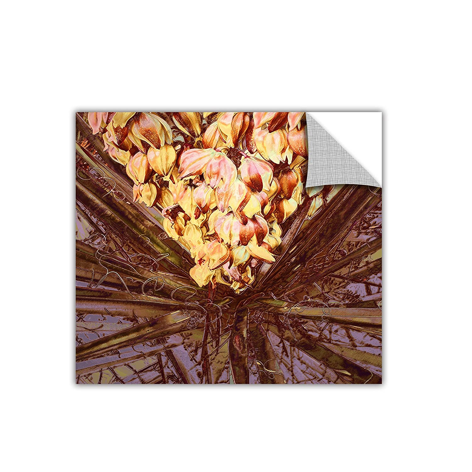 14 by 14-Inch ArtWall Appealz Dean Uhlinger Yucca Impression Removable Graphic Wall Art