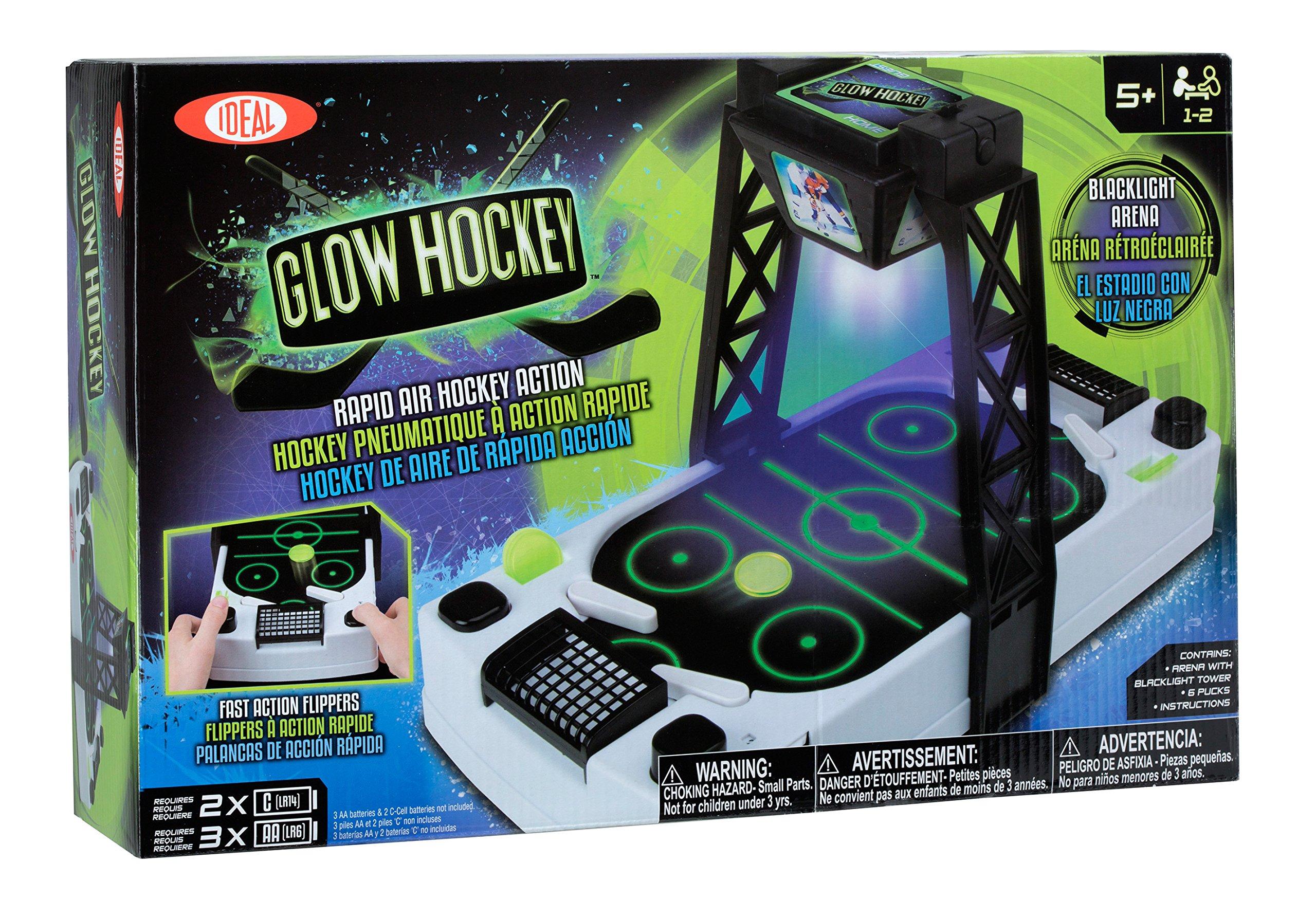 Ideal Glow Hockey Air Hockey Table by Ideal