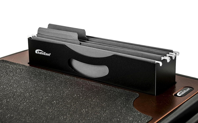AutoExec Efficiency FileMaster Car Desk with iPad//Tablet Mount