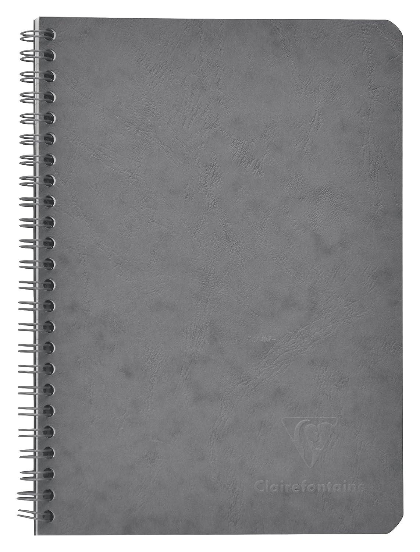 Rayado Clairefontaine 785663C Cuaderno US Age Bag c//bolsillo A5 120p/ág Verde