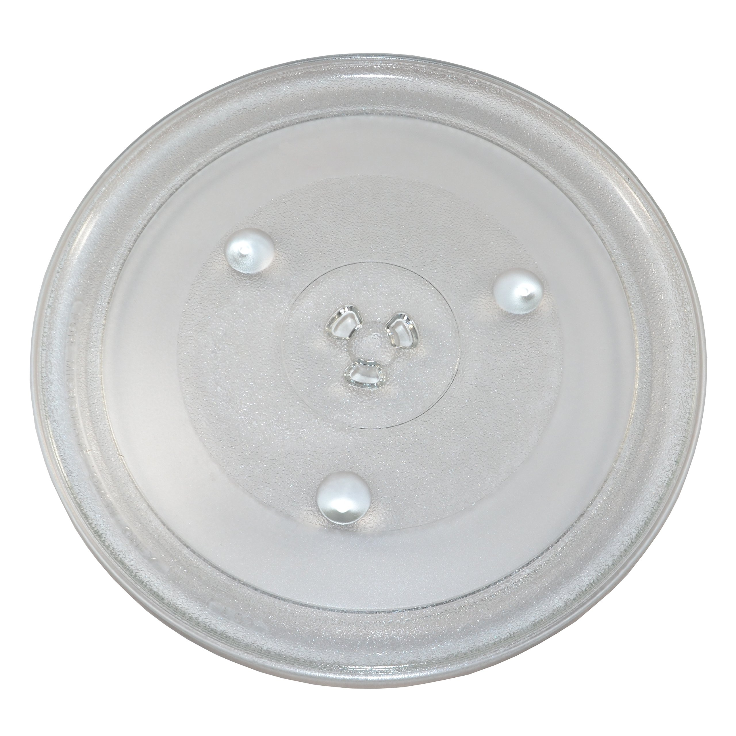 HQRP 12-3/8 inch Glass Turntable Tray compatible with Hamilton Beach P100N30 P100N30AL P100N30ALS3B HBP100N30ALS3 GA1000AP30P3 EM031MZC-X1 Microwave Oven Cooking Plate 315mm by HQRP