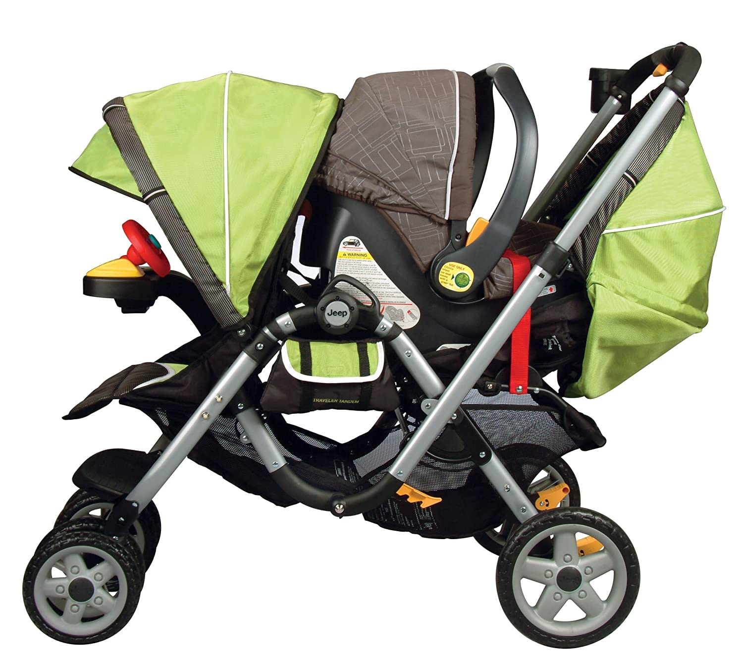 Amazon Jeep Traveler Tandem Stroller Spark Discontinued by Manufacturer Baby